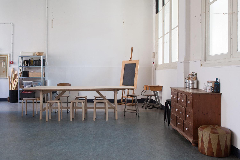 Ateliertafel Sigebert