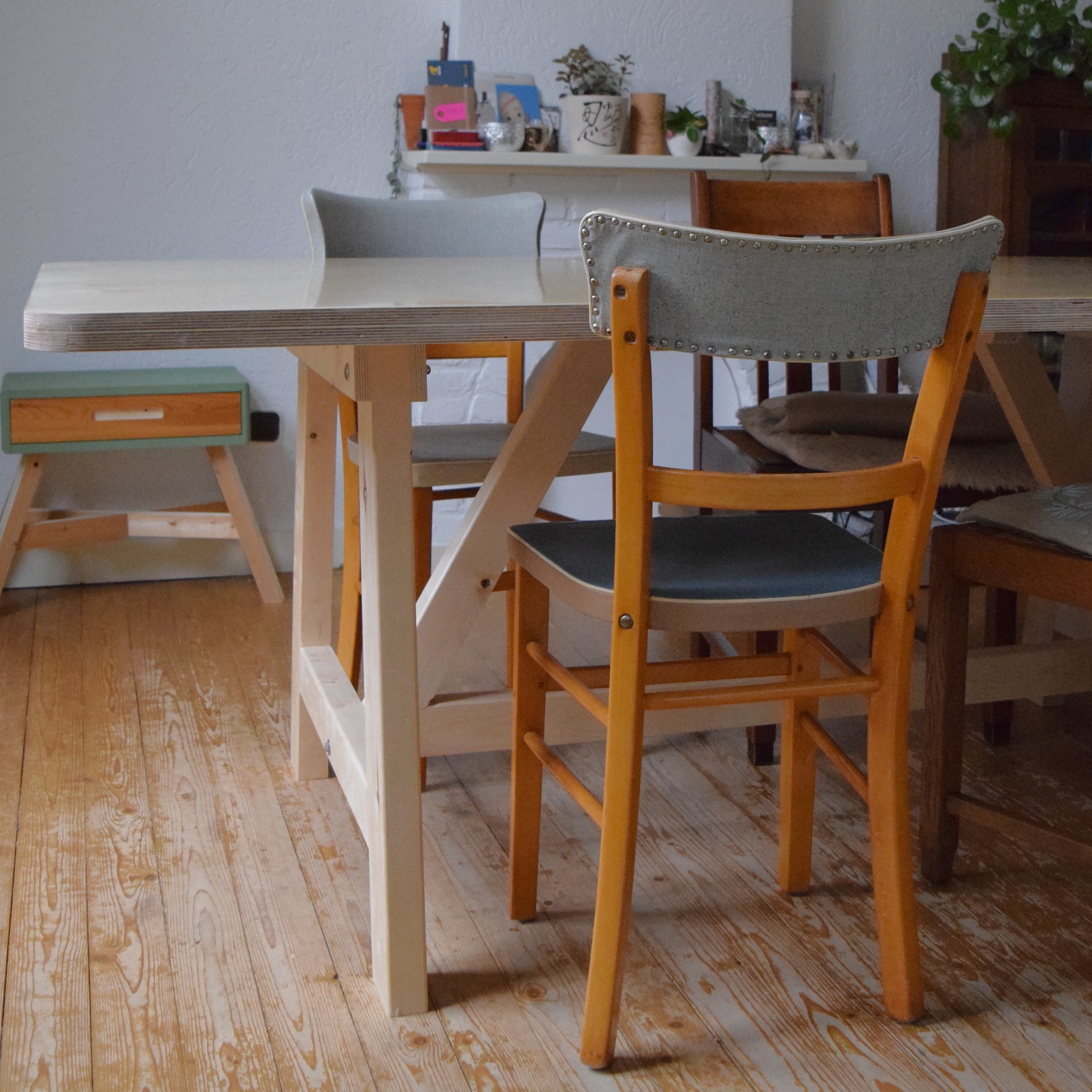 Ateliertafel 2200 X 1000 Rechthoekig